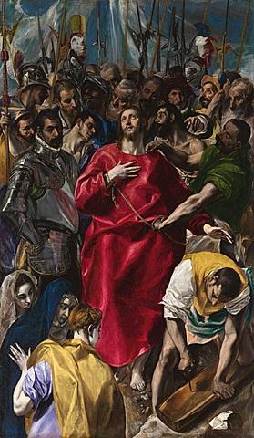 El Expolio (El Greco, Toledo)