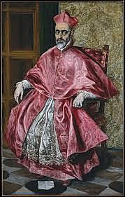 Retrato del Cardenal Niño de Guevara (El Greco, N. York)