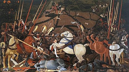 Batalla de San Romano (Paolo Ucello, París)