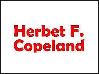 Herbert F. Copeland (1902-1968, biologiste américain)