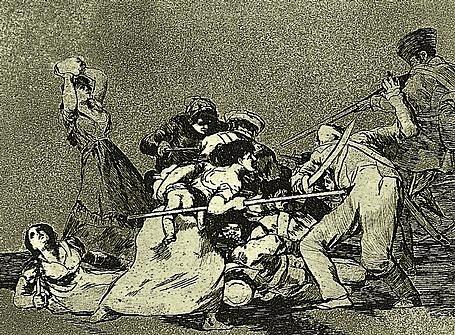 Gravat de Goya: Els desastres de la guerra