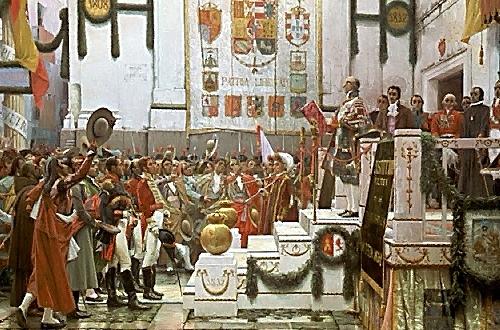 consell de regència d'Espanya i índies