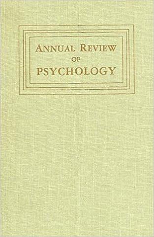 Revisión anual de Psicología