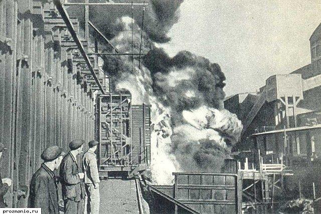Запуск 1-й и 2-й коксовых батарей на Губахинском коксохимическом заводе