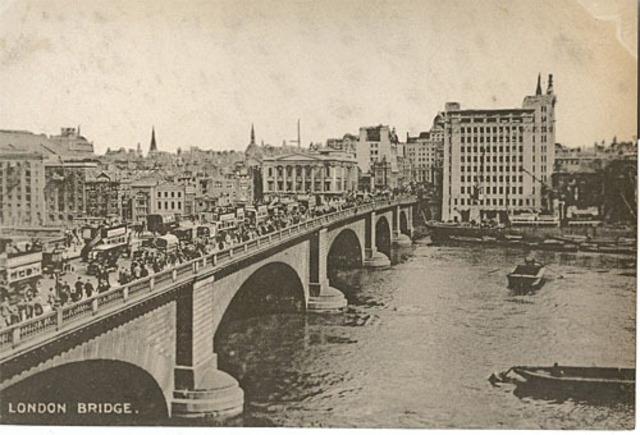 London Bridge Brought To The U.s