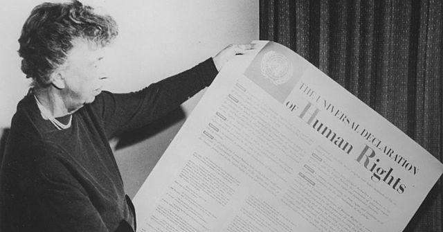 aprovação da declaração universal dos direitos do homem