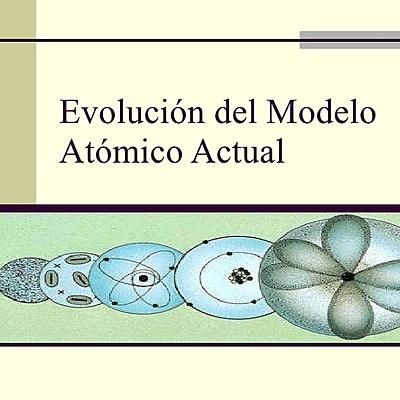 Aportes y avances científicos que llevaron a la formulación del modelo atómico actual. timeline