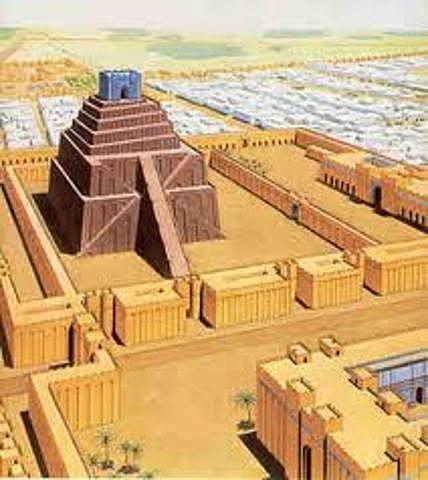 5400-3200 a .C Templo Rojo de Babilonia