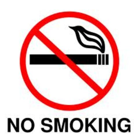 Cigarette ads are banned on TV