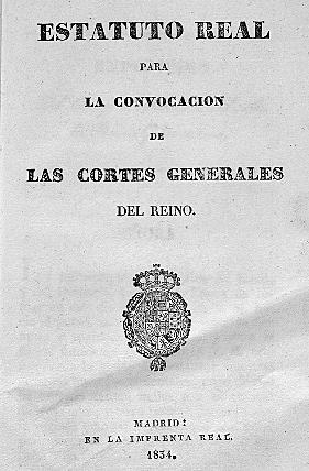PUBLICACIÓN DEL ESTATUT REAL