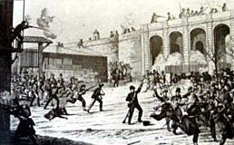 PROTESTERS EN BARCELONA