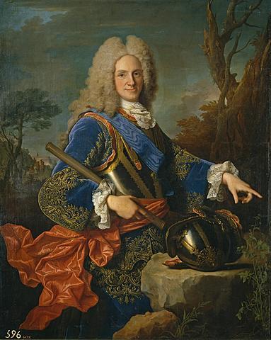 Nou monarca espanyol: El duc d'Anjou.
