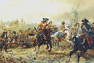 La Batalla de Ramilles