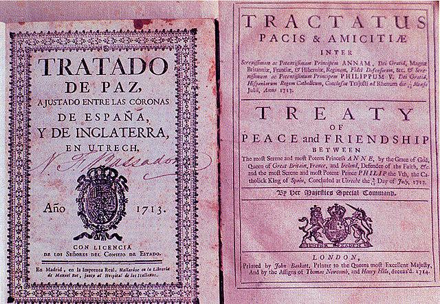 El Tractat d'Utrecht