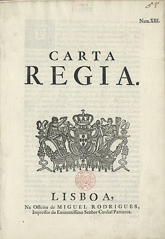 Carta Régia brasileira