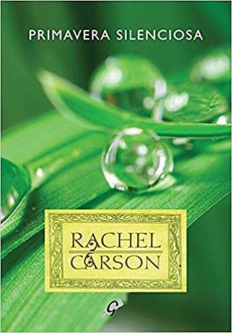 "Livro ""Primavera Silenciosa"" de Rachel Carson"