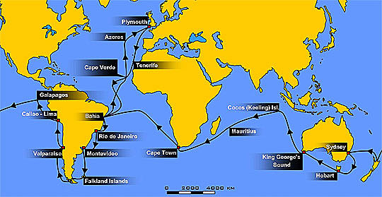 1831 la expedicion del Beagle