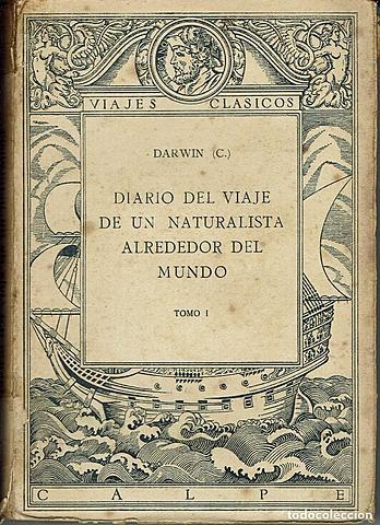 1839 Redacción de diario de Darwin
