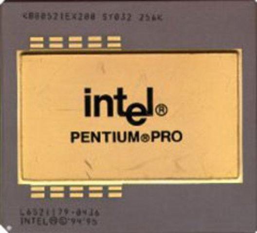 Intel lance le Pentium Pro