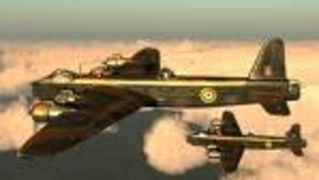 Britain Bombs Germany