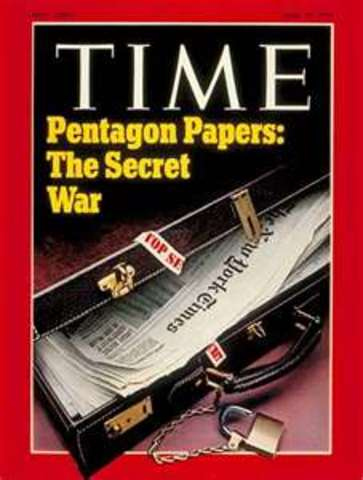 the Pentagon Papers were released