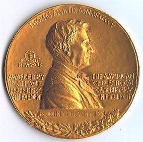 Guanya la medalla Edison