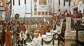 ESPANYA I CATALUNYA AL S.XlX LA CONSTITUCIÓ D'UN RÈGIM LIBERAL  timeline
