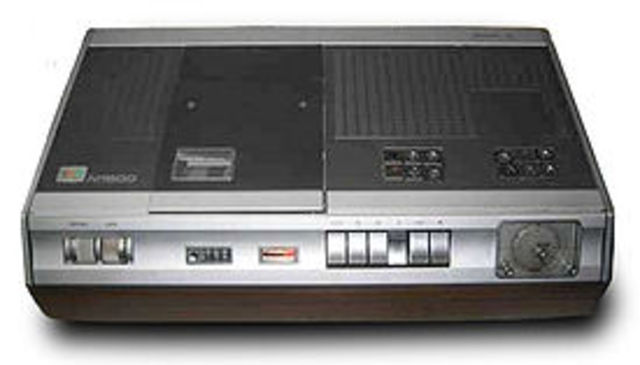 VCR'S Introduced