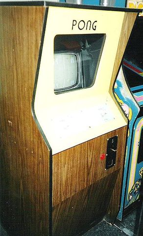 First successful video game (Pong) launched