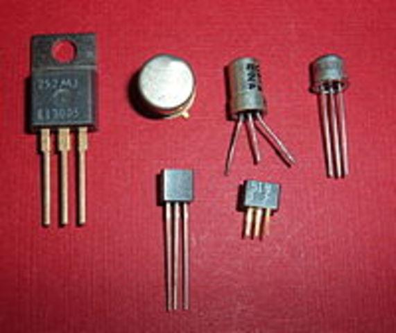 Fabricació del primer transistor