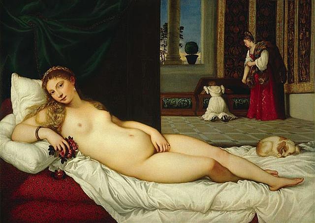 Venus de Urbino; Tiziano