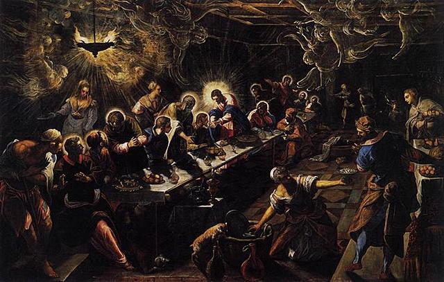 La Última Cena, Tintoretto