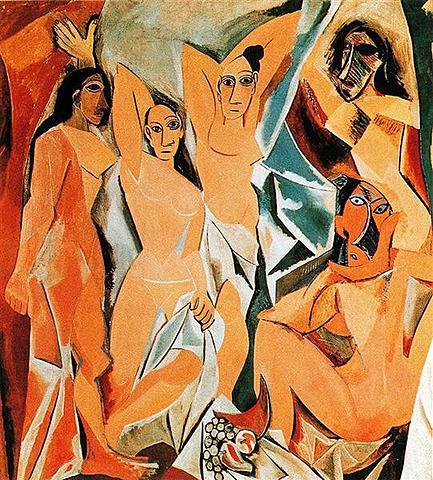 Las señoritas de Aviñón, Picasso