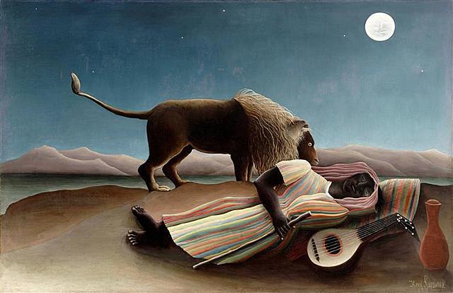 La gitana durmiendo, Rousseau