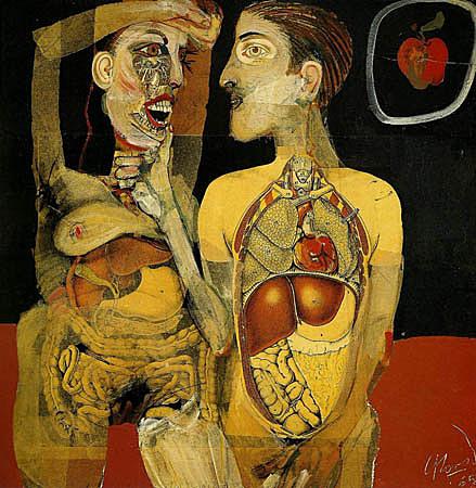 Adán y Eva, Carlos Alonso