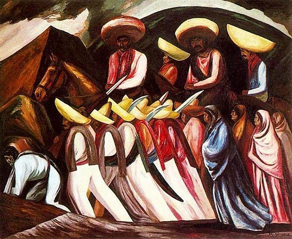 Marcha zapatista, José Orozco