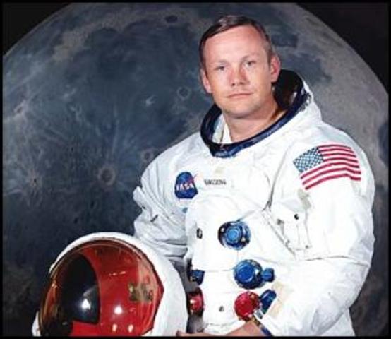Primer home a la Lluna