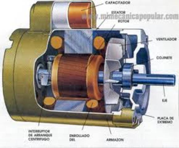Aparició del primer motor elèctric
