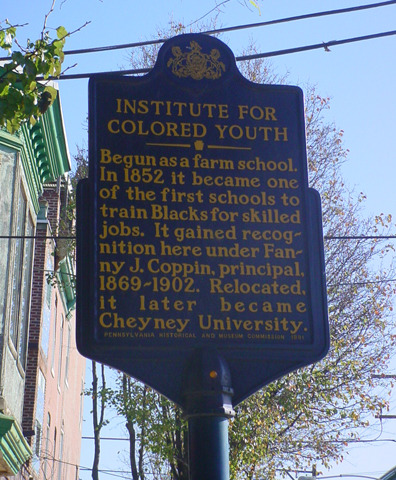 African Institute (later called the Institute for Colored Youth)