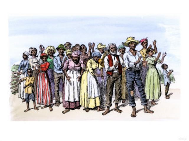Slave Culture influcences Music