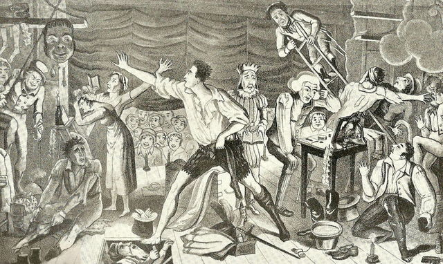 The First American Theater Troupe