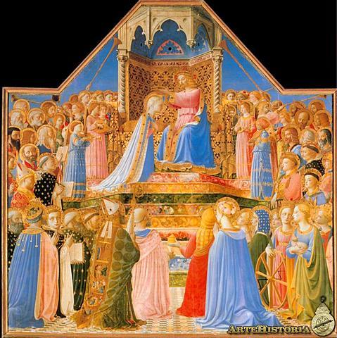 La Coronación de la Vírgen (Fra Angélico)