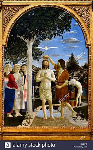 Bautismo de Cristo (P. Della Francesca, Londres)