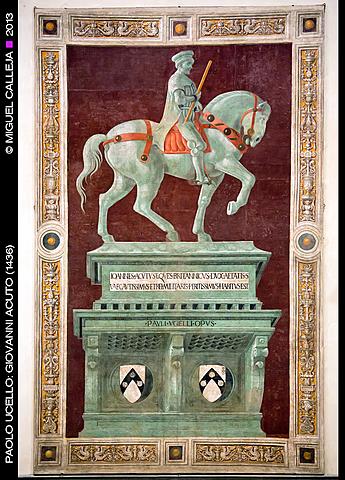 Retrato Ecuestre de Giovanni Acuto (Paolo Ucello)