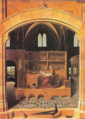 San Jerónimo en su Estudio (Antonello de Messina, Londres)