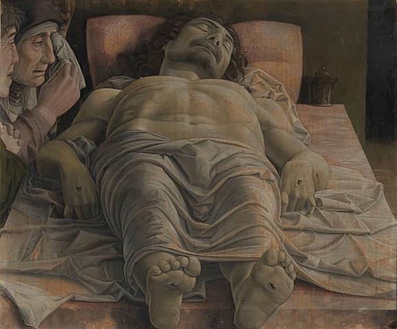 Lamentación sobre Cristo Muerto (Andrea Mantegna, Milán)