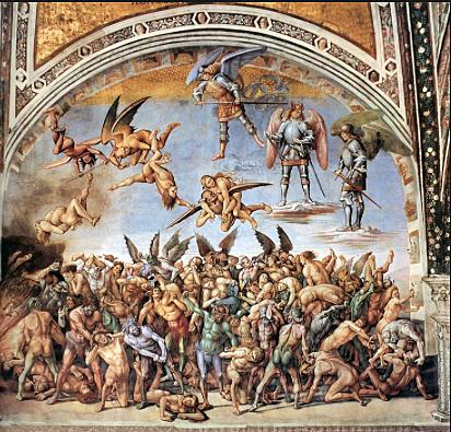 Los Condenados oEl Infierno (Signorelli