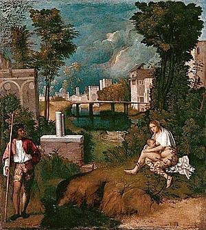La Tempestad (Giorgione, Venecia)