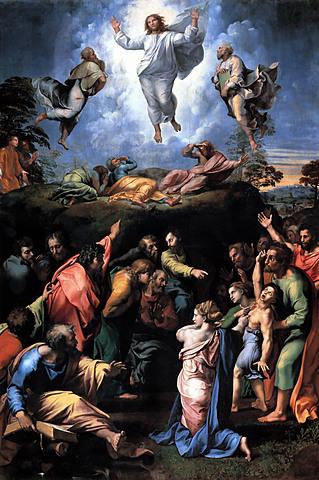 La Transfiguración (Rafael Sanzio, Roma)