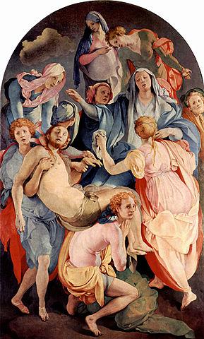 El Descendimiento de la Cruz (Pontormo, Florencia)